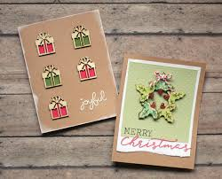 handmade christmas cards the craft patch handmade christmas card ideas