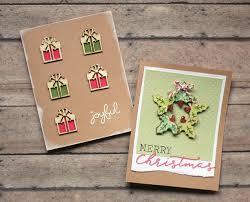 handmade christmas cards the craft patch handmade christmas card ideas