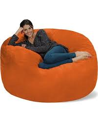 great deals on chill sack bean bag chair giant memory foam