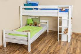 Twin Loft Bed Plans by Bunk Beds L Shaped Bunk Beds Plans Corner Twin Bed Unit L Shaped