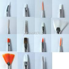 pro nail art design painting brush set polish gel pen kit uv gel