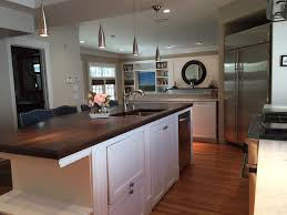 walnut kitchen island wood countertop and butcher block countertop gallery