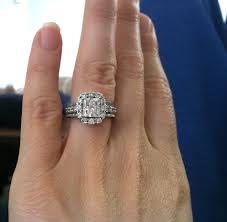 2 carat halo engagement ring wedding rings 2 carat ring on 2 carat