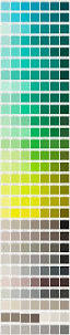 color swatch paint chip wall art inspiration reno colors