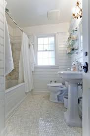 1930 bathroom design cottage bathroom with drop in bathtub pedestal sink in west