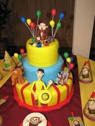 curious george cake topper curious george cake toppers topper babycakes site