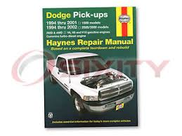dodge ram 1500 haynes repair manual laramie base st ws sport shop