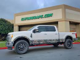 hunting truck decals partial hunting camo truck wraps gator wraps