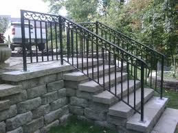 Patio Railing Designs Exterior Wrought Iron Railing Wrought Iron Exterior Railing Kits