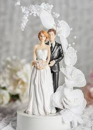 vintage cake topper contemprary and groom vintage glitter flower arch wedding