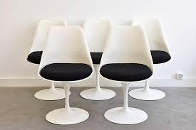 chaise saarinen saarinen 5 tulip chairs knoll vintage lausanne switzerland