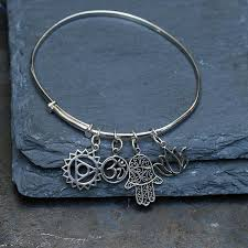 sterling bracelet images Bhakti sterling silver charm yoga bracelet breatheautumnrain jpg