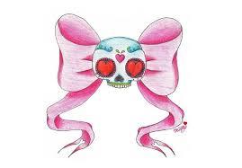 sugar bow girly sugar skull tattoomagz