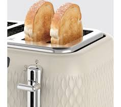 Breville 4 Slice Smart Toaster Buy Breville Curve Vtt788 4 Slice Toaster Cream Free Delivery