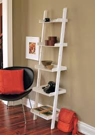 Container Store Bookcase Amazon Com Kiera Grace Hadfield 5 Tier Leaning Wall Shelf 18 By