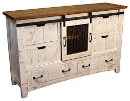farmhouse white buffets and sideboards houzz