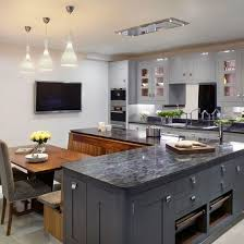 l shaped island kitchen layout kitchen layout grey kitchen with recessed panel and grey onyx