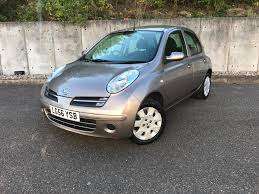 used nissan micra 2006 for sale motors co uk
