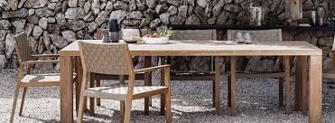 Luxury Garden Furniture Contemporary Designer Collection - Designer outdoor table
