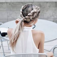 Hochsteckfrisurenen Casual by Best 25 Casual Braids Ideas On Casual Braided