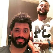 seattle barbers that do seahawk haircuts russell wilson finally gets a haircut