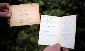 wwii xmas letters from german soldiers delivered 71 years late