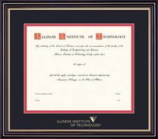 of illinois diploma frame diploma frames illinois institute of technology bookstore
