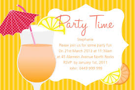 Cocktail Party Invitation Card Online Party Invitations Theruntime Com