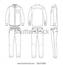 men oxford shirt stock vector 653153428 shutterstock