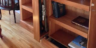 Secret Compartment Bookcase Custom Concealment U0026 Secret Storage Furniture Qline Design