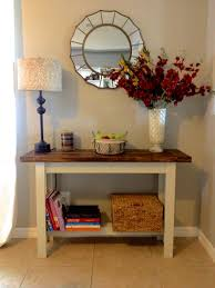 Entry Table Ls Building The Hyde Pottery Barn Console Table Overthrow Martha