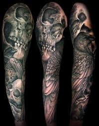 skull and roses tattoos for cerca con piercings