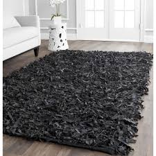 How To Clean Shag Rug Floors U0026 Rugs Dark Black Shag Rugs For Modern Living Room Decor Idea