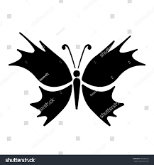 small delicate butterfly pattern stock vector 584684245
