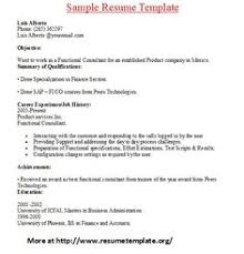 Cover Letter And Resume Examples by Resume Sample From Resumebear Com Find Great Tips For Writing