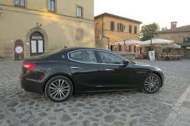 maserati sedan black maserati ghibli diesel european spec first drive motor trend