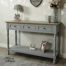 Grey Console Table Wonderful Grey Console Table And Wakefield Rustic Grey Reclaimed