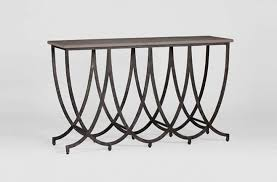 Iron Console Table Transitional Iron Console Table Tables Consoles Pinterest
