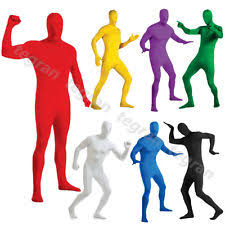 Morph Halloween Costumes Black Skin Suit Costumes Ebay