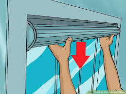 How To Clean Greasy Blinds How To Clean Roller Blinds 7 Steps With Pictures Wikihow