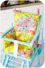 siege pour chaise haute coussin de chaise haute patron couture gratuit patron pour ma