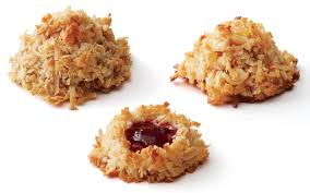 toasted coconut macaroons