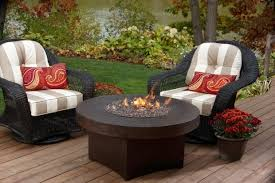 Outdoor Furniture With Fire Pit by Gas Fire Pit Sets With Chairs Fire Pit Ideas