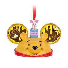 your wdw store disney ear hat ornament winnie the pooh