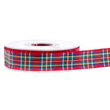 tartan ribbon tartan ribbon royal stewart