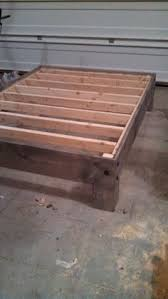 Build Your Own Queen Platform Bed Frame by Simple Queen Bed Frame By Luckysawdust Lumberjocks Com
