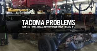 recall on toyota tacoma rust recall a toyota frame in pieces toyota tacoma problems
