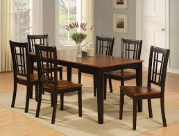 Oval Kitchen Table Sets by Kitchen Gray Interior Wall Idea Feat Modern Long Kitchen Table