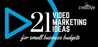 21 marketing ideas for small business budgets infographic