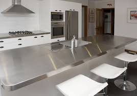 Stainless Steel Kitchen Bench Stainless Steel Benchtops Clic Valuepak Kitchens Our Team Of Expert Kitchen Designers Are Ready